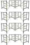 Eight Set New Flip Lock 5' X 5'1'' X 7' Masonry Scaffolding Frame Sets CBMSCAFFOLD