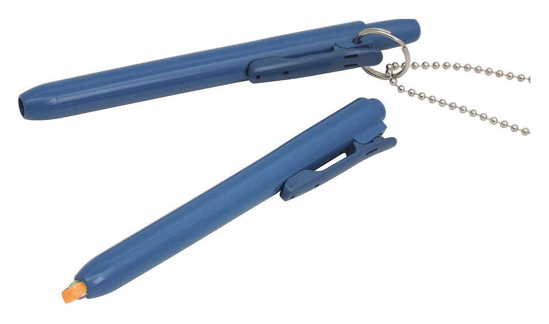 Pen Style Highlighter with Chisel Tip, Orange, 10 PK