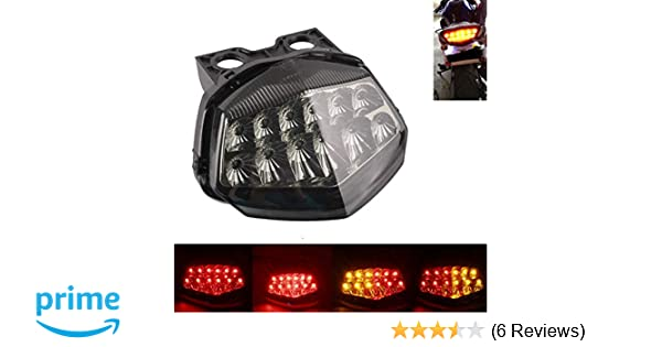 Amazon.com: MZS Tail Light Turn Signal LED Integrated ...