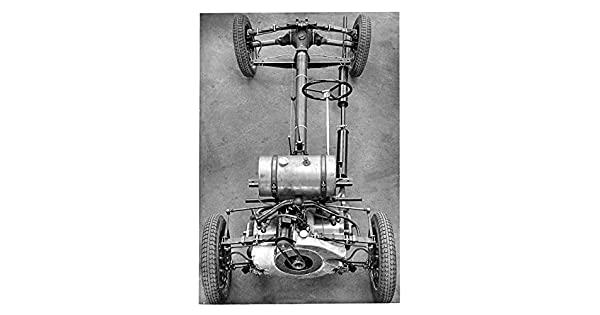 Amazon.com: 1935 1936 Stoewer Greif Chassis Factory Photo ...