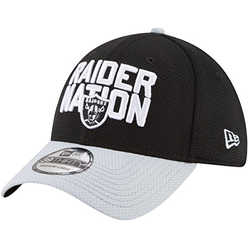 Oakland Raiders Adult Raider Nation Draft Cap ()