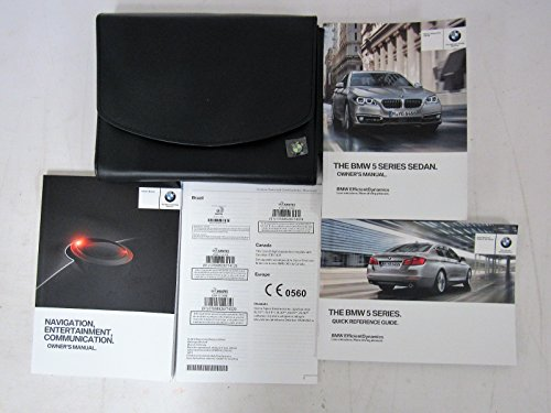 (2014 BMW 5 SERIES SEDAN WITH NAVIGATION AND IDRIVE OWNER'S MANUAL )