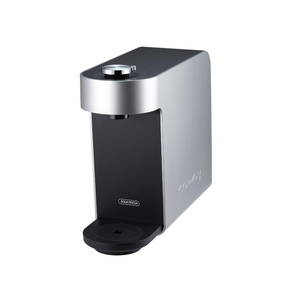 Coway Aquamega 100 Water Purifier, 15.8 x 5.1 x 12.1, Black/Silver