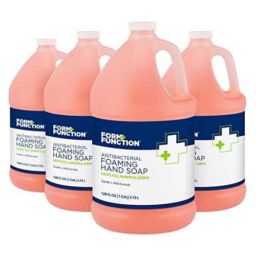 Form + Function Antibacterial Foaming Hand Soap, 1 gal, 4-Pack