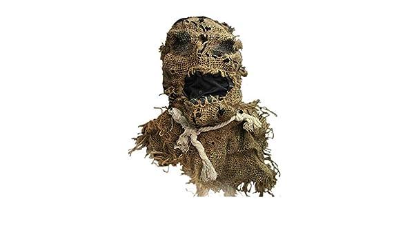 CerisiaAnn - Máscara de espantapájaros para Halloween, máscara de ...