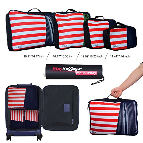 da Organizer Bagaglio per imballaggio 2win2buy da Packing Set bagagli Compression Benne Bag 4 bagagli Organizzatori viaggio viaggio valigia fBY7Pnq