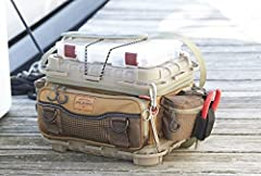 The leader in tackle storage innovation, Plano, introduces the new and improved Guide Series Tackle Bag. Equipped with five 3500 stow away, 3 exterior zipper pockets, and 4 slip pockets there is plenty of room for every bait in your arsenal. ...