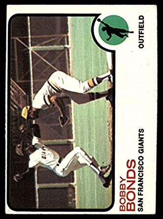 Baseball MLB 1973 Topps #145 Bobby Bonds EX Excellent Giants