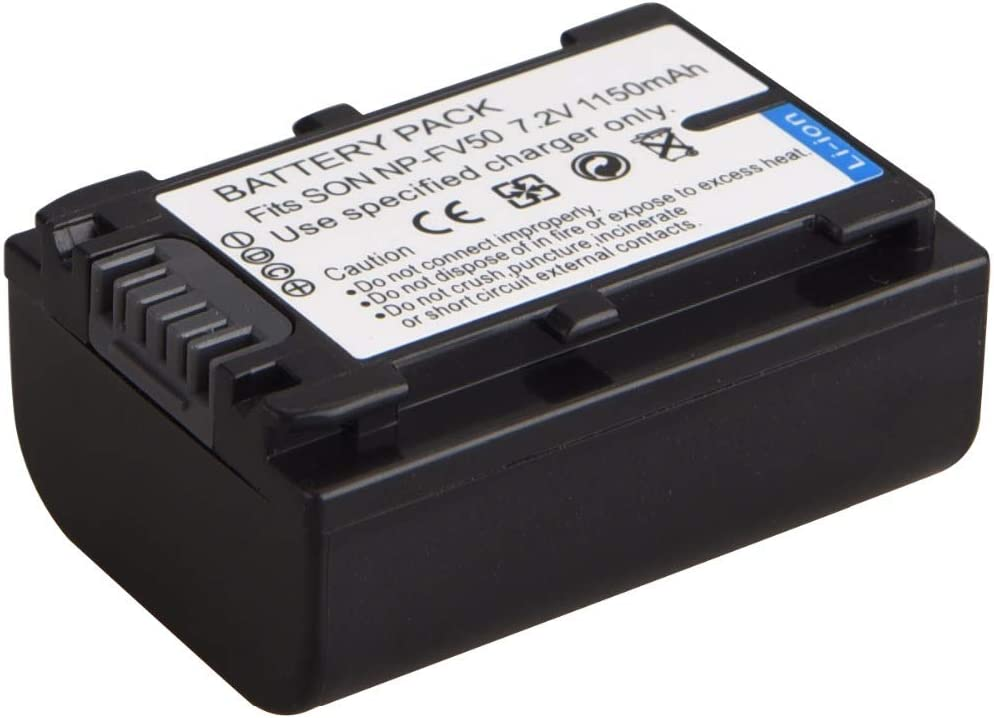 HDR-XR260VE HDR-XR155E HDR-XR160E HDR-XR350VE LCD USB Battery Charger for Sony HDR-XR150E HDR-XR550VE Handycam Camcorder