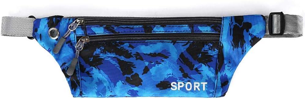 Godya Bolsa de Cofre de Camuflaje Bolsa de Deporte Informal Bolsa de Pecho Impermeable de Nylon Bolsa de Correr al Aire Libre para Hombres y Mujeres