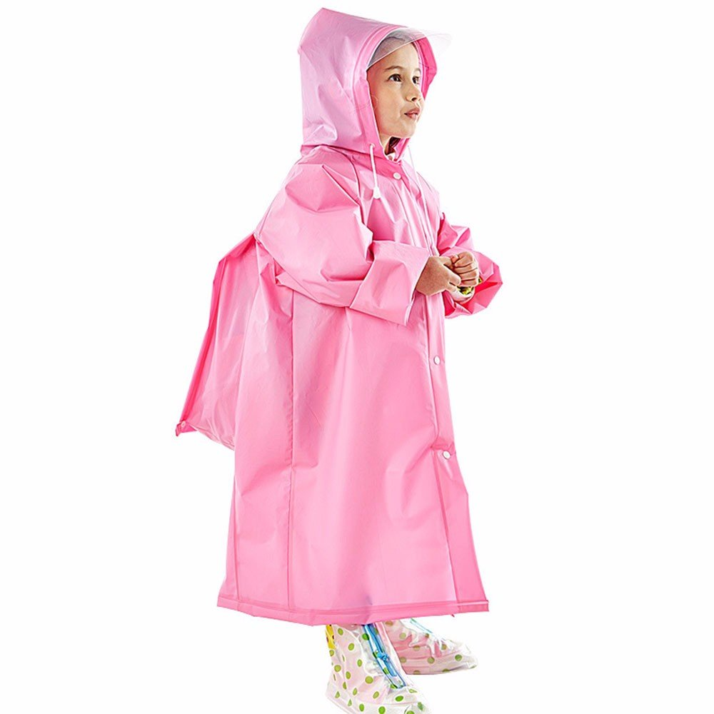 GAOLI Eva Wasserdichter Regenmantel Kinder Regenmantel