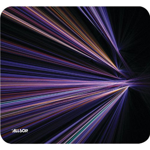 Allsop Tech Purple Stripes – Mouse Pad (30600)