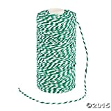 Green and White Bakers Twine - 328 ft (Value Two-Pack)