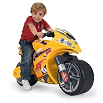 INJUSA-194 Hello Kitty Moto Correpasillos Winner, Color Amarillo, 12m+ (194/000)