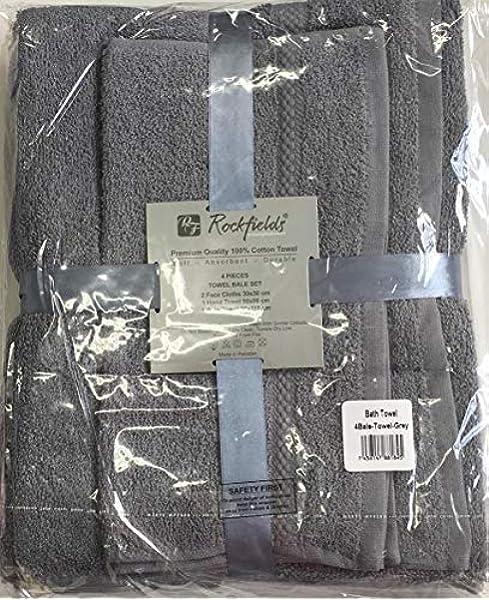 Casabella Lot de 10/serviettes de bain douces pour le visage 10 Pieces 100 /% coton ivoire les mains le corps