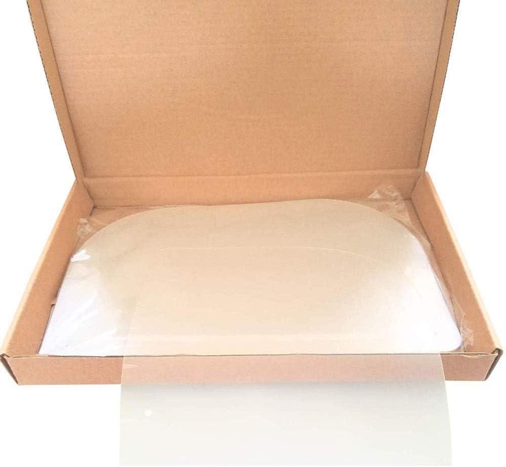 Pantalla Facial Aceite de Doble Cara Anti-Fog Anti Splash Transparente Ojo Protecci/ón Cocina cocinar Safety protecci/ón m/áscara Facial Visera