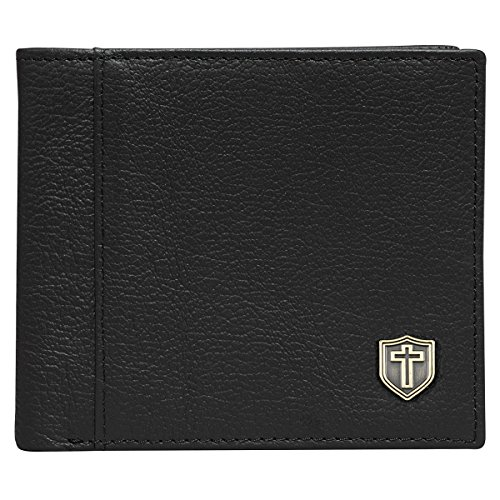 Black Genuine Leather Wallet Shield product image