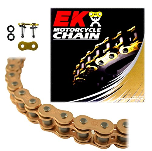 - EK Chain 607GD-525SROZ2-120 525SROZ2 SRO Series O-Ring Chain - 120 Links - Gold , Chain Application: Street, Chain Length: 120, Chain Type: 525, Color: Gold by EK Motor Sport