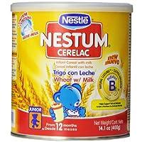Trigo Nestlé De Cerelac Con Cereal De Leche, 14.10 Onzas
