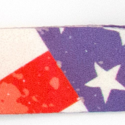 Buttonsmith Old Glory Flag Premium Lanyard with Buckle and Flat Ring - Made in USA by Buttonsmith (Image #1)