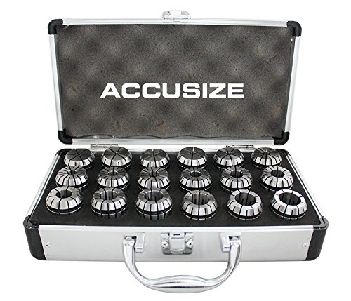 AccusizeTools - 18 Pcs ER32 Collet Set 3/32