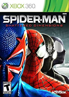 Spider Man: Shattered Dimensions with Bonus Art Concept Book -Xbox 360 (B003Z0LFJC) | Amazon price tracker / tracking, Amazon price history charts, Amazon price watches, Amazon price drop alerts