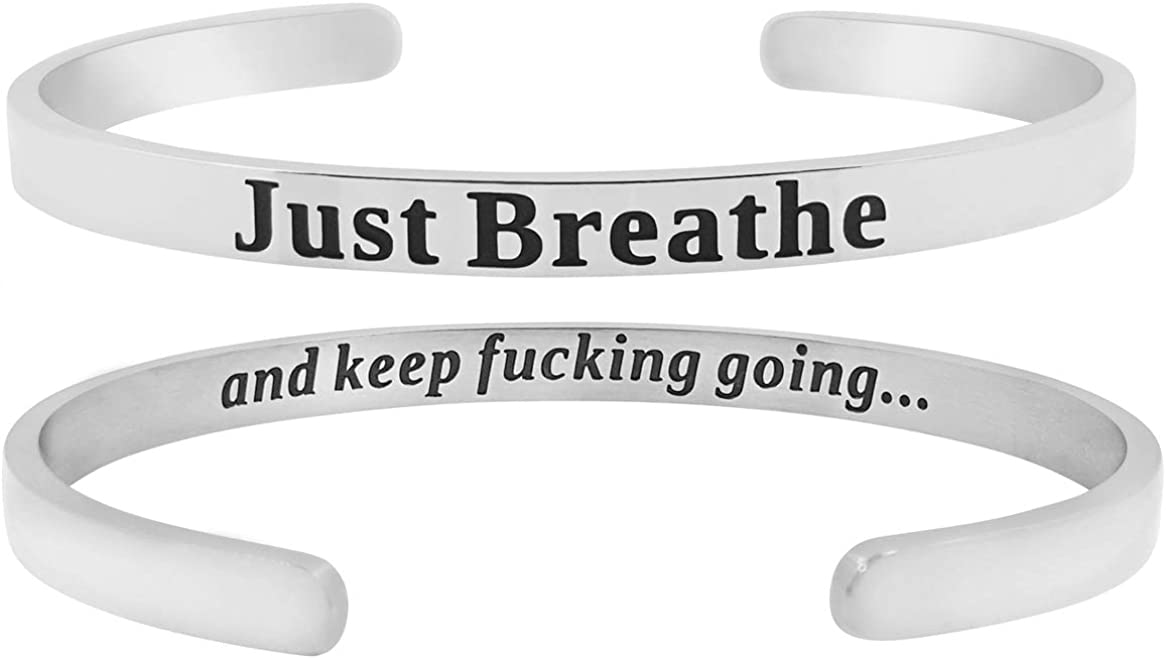 'Just Breathe Keep F-ing...