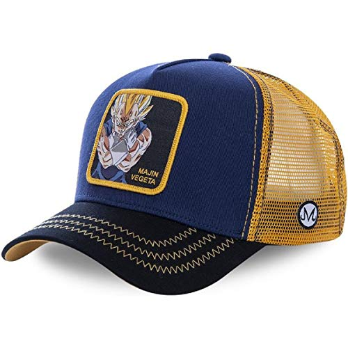 Dragon Ball Cap - Dragon Ball Character Trucker Hat - Mesh Back Snapback Hat- Unisex Design for Man Women Baseball Caps-Best Gift for Your Children (3)