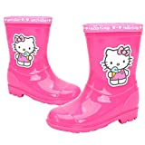 Hello Kitty Ice Cream Girl's Pink Rain Boot Shoes (Parallel Import/Generic Product) (8 M US Toddler)
