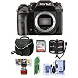 Pentax K-1 Mark II DSLR Camera (Body Only) - Bundle 32GB SDHC Card, Camera Case, Cleaning Kit, Memory Wallet, Card Reader, Mac Software Package