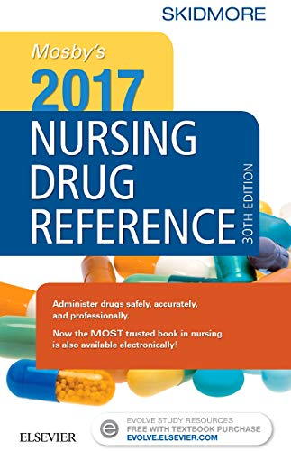Mosby's 2017 Nursing Drug Reference (SKIDMORE NURSING DRUG REFERENCE)