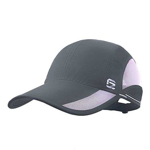 ed187327908 GADIEMKENSD Quick Dry Sports Hat Lightweight Breathable Soft Outdoor Run Cap  (Classic