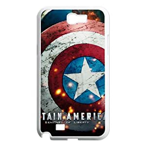 PCSTORE Phone Case Of Captain America For Samsung Galaxy Note 2 N7100
