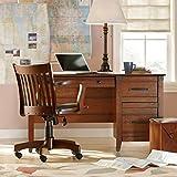 Premium Three Drawer Desk - Elegant Stylish Modern Contemporary Home Office Furniture Storage Free eBook