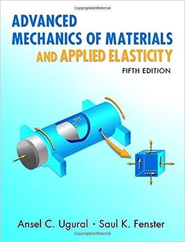 Advanced Mechanics Of Materials And Applied Elasticity Pdf