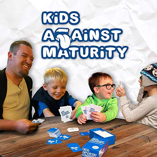 Kids Against Maturity: Card Game for Kids and Families, Super Fun Hilarious for Family Party Game Night, Combo Pack with Expansion #1 and #2