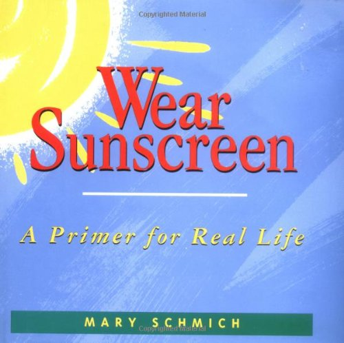Sunscreen Advice