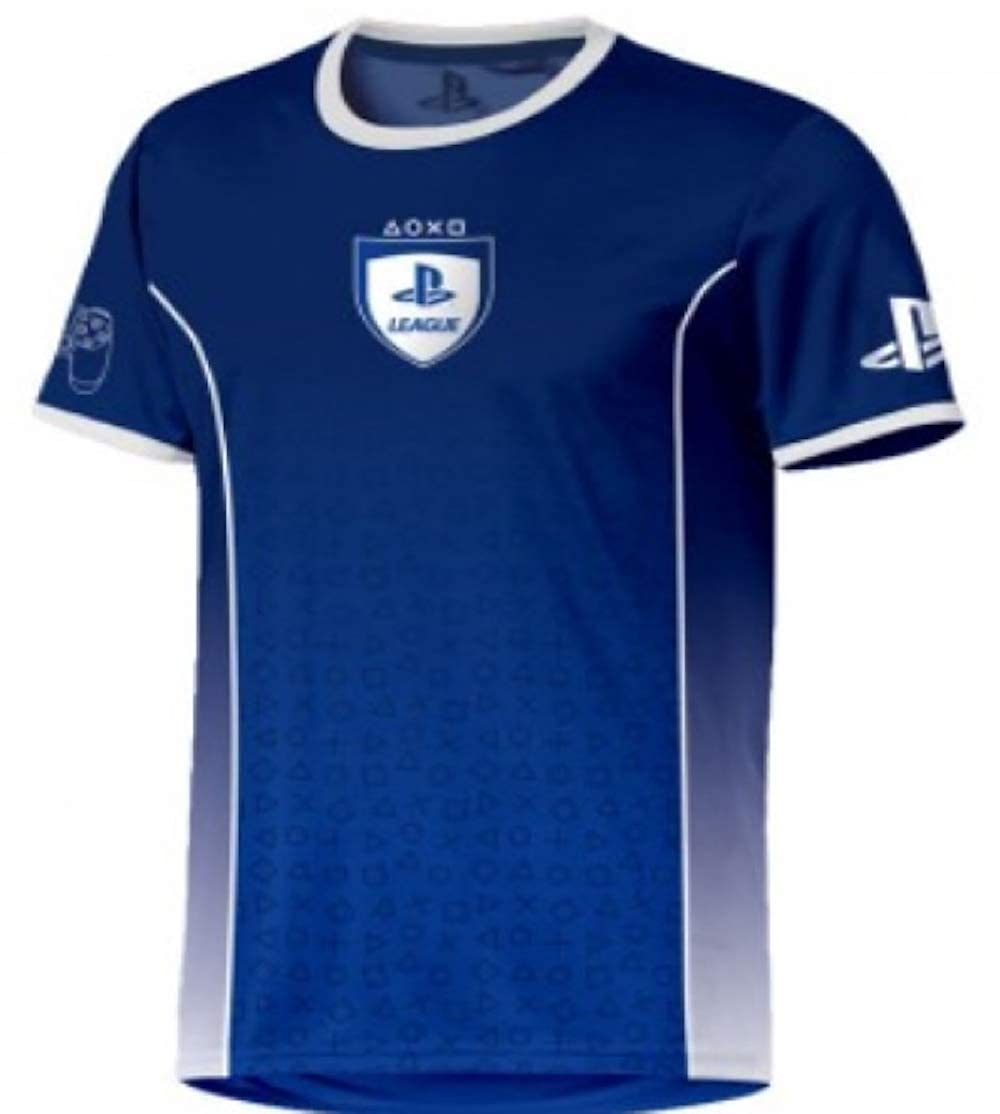 Sony Playstation - Fade Esports - Hombre Oficial Camiseta de Fútbol: Amazon.es: Ropa y accesorios