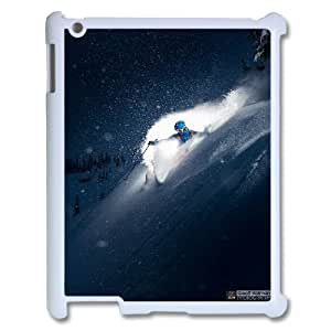 Pettern Extreme Sports Pattern Hard Case Cover Back Skin Protector for Ipad 2,3,4 CaseTSL150469