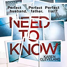 Need to Know Audiobook by Karen Cleveland Narrated by Mia Barron