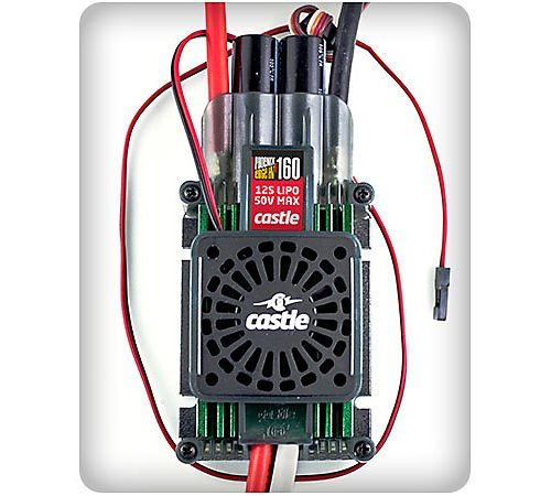 Castle Creations PHX Edge 160HVF with Cooling Fan