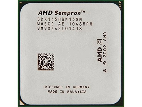 - AMD Sempron 145 2.8 GHz (SDX145HBK13GM) CPU Processor Socket AM2+ AM3 938-pin