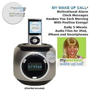 Amazon.com: Need Workout Motivation? Get MY WORKOUT WAKE UP CALL Motivational Alarm Clock - 30 ...