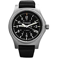 MARATHON WW194003SS GPM Swiss Made Military Issue Field Watch (General Purpose Mechanical) ETA 2801 Movement, Tritium and Sapphire Glass (US Government)