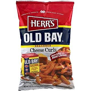 Herr's Old Bay Seasoned Cheese Curls (3 Bags)