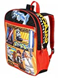 Lego Star Wars Galactic Empire 16 Inch Backpack - Black and Orange