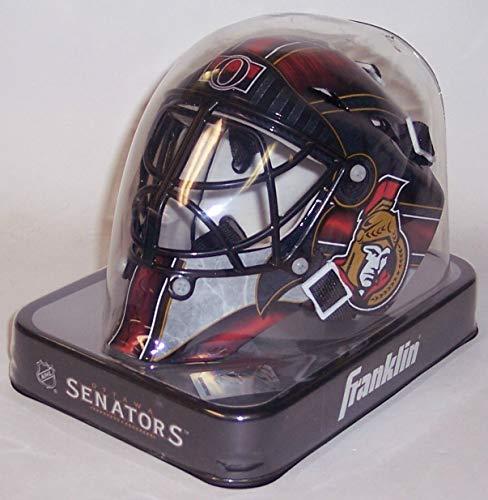 Ottawa Senators Franklin Sports NHL Mini Goalie Mask - New in Box