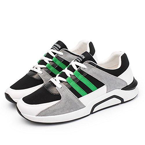 De Course Formateurs Vert Vert Étudiants Légers Hommes Ressort Des Occasionnels Delamode Chaussures Par xYn1XqFw