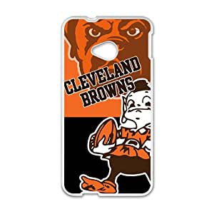 Zero Cleaverland Browns Fahionable And Popular Back Case Cover For HTC One M7