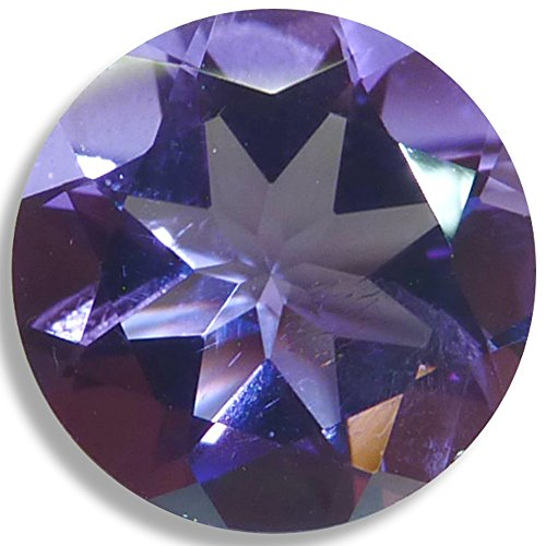 Cut Amethyst Stone (Natural Amethyst Round Brilliant Loose Unset Gem (6mm, purple) click for more options)